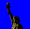 Flame (Raoul's Photos) Tags: usa newyork popart statueofliberty iconographic