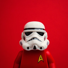 Expendable (Balakov) Tags: trek star lego stormtrooper wars redshirt expendable cantwealljustgetalong