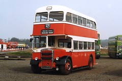 Preserved Stockport Leyland Titan PD2 Neepsend 65 HJA965E at Cobham Bus Rally (Mark Bowerbank) Tags: bus rally stockport cobham preserved titan 65 leyland neepsend pd2 hja965e