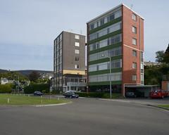 Sandy Bay Apartments (martyr_67) Tags: bay nikon apartments sandy flats tasmania 24mm hobart nikkor f28 ais d800