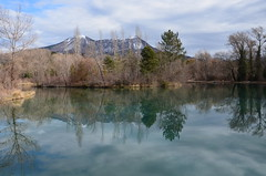 Le lac de Gaubert (Amlia Photographies) Tags: lake france nature beautiful montagne reflections season landscape photography nice nikon hiver picture lac pic moutain reflets 18105 nikoniste d5100