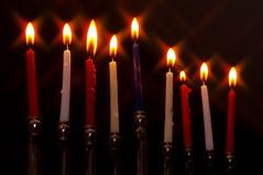 Hanukkah Candles (Ben Unleashed!) Tags: holiday israel candles shine bright 9 jewish judaism hanukkah hanukkiah pentaxkr