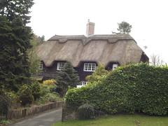 Rose Hill, Lickey - thatched cottage (ell brown) Tags: greatbritain trees england tree unitedkingdom worcestershire thatchedroof westmidlands rosehill lickeyhills lickey thatchedcottage lickeyhillscountrypark thedistrictofbromsgrove