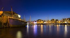 Sutton Harbour (jedlangdon) Tags: longexposure light night reflections boats lights evening coast boat nikon harbour south plymouth barbican tokina clear reflect devon slowshutter suttonharbour chinahouse tokina1116mm nikond7000