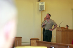 Corporals Course (1st Marine Logistics Group) Tags: marine general graduation ceremony marines leaders leadership cpl corporal sergeantmajor camppendleton april19 broadmeadow clb5 sgtmaj corporalscourse 1stmlg commandinggeneral clr1