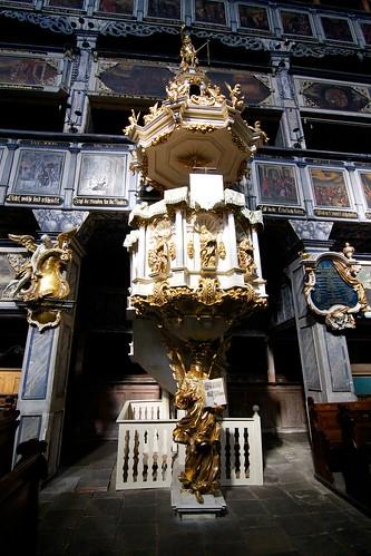Ambona (1670) w Kościele Pokoju w Jaworze