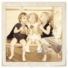 Love Triangle (MissSmile) Tags: cute love kids children sweet framed memories adorable misssmile