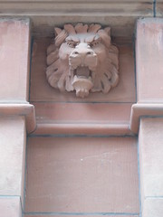Lionhead, Confederation Life Building (grecomic) Tags: sculpture toronto architecture downtown stonework yongestreet stonecarvings beauxarts confederationlife yongerichmond confederationlifebuilding richmondstreeteast richmondste