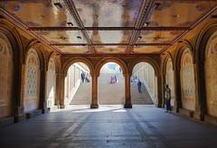 Bethesda Terrace Arcade (GezenVizor) Tags: nyc newyork centralpark manhattan bethesdaarcade mintontiles wwwferitonurlucom
