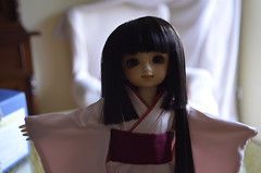Today 22th of April's arrival  (Purple  Enma) Tags: ball orlando doll dolls box yo super sd opening bjd arrival resin dollfie volks jointed yosd megohime idex2013