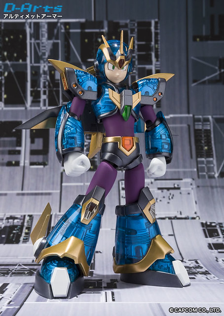 D-ARTS ROCKMAN - Ultimate Armor 終極裝甲洛克人