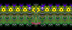 Apr 24 (joybidge (back from vacation)) Tags: canada art colourful exciting kaleidoscopic detailed alteredimage fractallike veganartist naturepatternscanada philscomputerart magicalgeometry