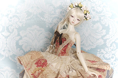 Etiude in different wig (AyuAna) Tags: ball design clothing doll little handmade ooak chloe monica bjd dollfie jointed whiteskin littlemonica ayuana