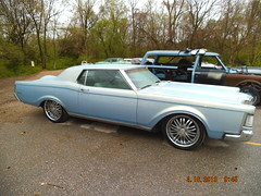 "1969 Lincoln Mark III • <a style=""font-size:0.8em;"" href=""http://www.flickr.com/photos/85572005@N00/8681228220/"" target=""_blank"">View on Flickr</a>"