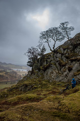Hunting for Snow White (2) (Walks in Dreams) Tags: england mountains walking landscape ancient lakedistrict cumbria mystical langdale pagan neolithic littlelangdale prestondistrictwalkingclub kevincjpoole
