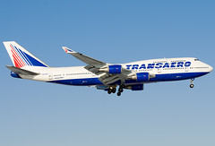 VQ-BHX  Transaero Airlines Boeing 747-4F6 (Osdu) Tags: airplane airport aircraft aviation aeroplane boeing aviao flugzeug avin boeing747 aereo spotting dme avion avia vliegtuig flygplan planespotting   aeroplano lentokone  samolot uak flugvl domodedovo   747 luftfahrzeug lennuk transaero  transaeroairlines   uudd  letoun fastvingefly aroplanum vqbhx