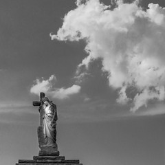 New Orleans (Frozen Image Photography) Tags: bw grave statue sad neworleans cemetary cheers chuck lonely tribute faithful hopeful cheers2 chuck2 chuck3 chuck4 forrodney cheers3 chuck6 chuckedoutbythepigsty chuck5 chuck7 chuck8