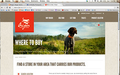 Fueled By Orijen (MilkaWay) Tags: field advertising banner birddog dogfood website tessa whoa gsp germanshorthairedpointer 4yearsold workingdog huntingdog grainfree orijen wheretobuy grainless
