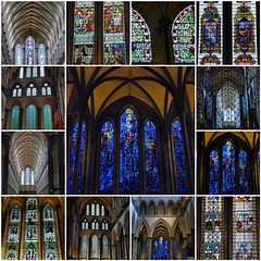 Salisbury Cathedral - A Top Glass Example of Early English Architecture! (antonychammond) Tags: fdsflickrtoys cathedral christianity middleages salisburycathedral anglican stainedglasswindows flickrcolour earlyenglisharchitecture anticando cathedralchurchoftheblessedvirginmary colorfullaward colorsinourworld