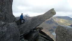 The Cannon (fishwickanne) Tags: northridge adamandeve tryfan thecannon