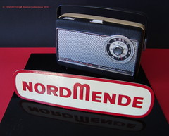 NORDMENDE Portable Transistor Radio (W-GERMANY 1964) (MarkAmsterdam) Tags: old classic sign metal museum radio vintage advertising design early tv portable colorful fifties tsf mark ad tube battery engineering pickup retro advertisement collection plastic equipment deck tape electronics era handheld sheet catalog booklet collectible portfolio recorder eames electrical atomic brochure console folder forties fernseher sixties transistor phono phonograph dealer cartridge carradio fashioned transistorradio tuberadio pocketradio 50s 60s musiktruhe tableradio magnetophon plaskon 40s kitchenradio meijster markmeijster markamsterdam coatradio tovertoom