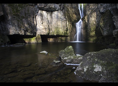 Catrigg Force (CS Photographer) Tags: sun reflection water landscapes waterfall moving movement rocks stream slow angle pentax beck yorkshire wide wideangle slowshutter limestone dales k5 settle featured