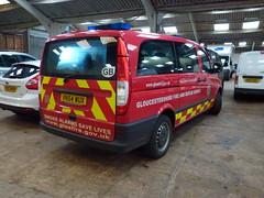 VN54VUX Gloucestershire Fire and Rescue (Emergency_Vehicles) Tags: show park rescue bus ess fire mercedes benz mini gloucester service emergency warwickshire vito stoneleigh vux vn54 vn54vux