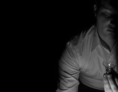 Broken Idea (AryehLevine) Tags: light music selfportrait art dark nikon poetry thought creative double led story identity artsy human clones torture trick clone aryeh adolescent doppelganger teenage selfie levine d90