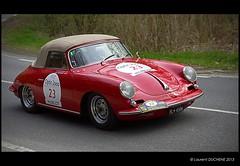 Porsche 356 B Cabriolet (1963) (Laurent DUCHENE) Tags: b porsche cabriolet 356 tourauto 2013
