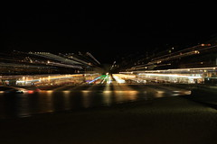 St Ives Zoomburst (zeity121) Tags: nightphotography motion night movement cornwall zoom harbour burst stives zoomburst
