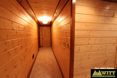 Basement finish out (GarrettAndersonPhotography) Tags: blue house building home ga georgia bathroom photography log construction cabin garage basement ridge company garrett deck anderson siding renovation remodel custom inc witt renovate roofing porches gilmer ellijay fannin gutting
