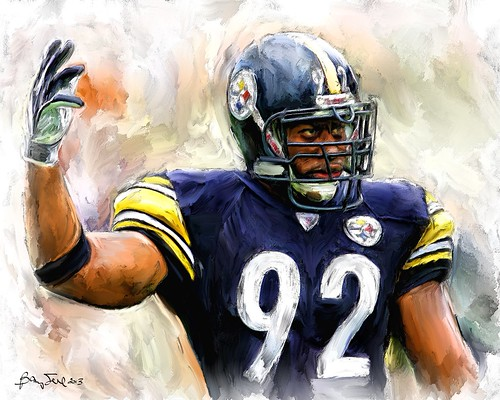 James Harrison 92 Painting
