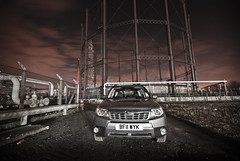 Subaru Forester @ the gasworks (cactusmelba) Tags: 20d station photography pentax photos yorkshire review police 4wd automotive gas east subaru works xs hull awd forester gasometer rollin aficionados navplus k10d pentaxk10d rollinphotos wwwcarproductstestedcom