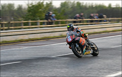 NW200 2013 Bruce Ansty (Eggy Boil) Tags: road wet evening roundabout link thursday damp superstock 2013 nw200 ballysally