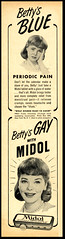 Midol (Harald Haefker) Tags: promotion vintage magazine ads print advertising pub publicidad reclame ad retro anuncio advertisement nostalgia advert 1960s werbung publicit magazin reklame 1961 affiche publicitario pubblicit midol rclame pubblicizzazione