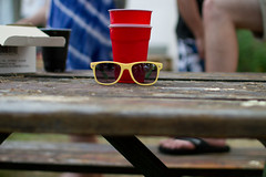 Cool cups (waitscm) Tags: sunglasses plastic solocup lebownfire