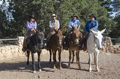 Bright Angel Trailhead Renovation Dedication - Grand Canyon Wranglers - May 18, 2013 - 0185 (Grand Canyon NPS) Tags: project nationalpark hiking grandcanyon sightseeing hike celebration hiker renovation ribboncutting improvement southrim brightangeltrail grandcanyonassociationdedication