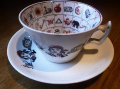 tea cup (trish red) Tags: cup tea fortune pottery gypsy telling