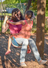 HaPpInEsS (BHawk Photography) Tags: park family love happy 50mm spring swing nikond7100