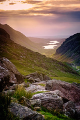 Summer evening near Snowdon (colinb4) Tags: mountains snowdonia sunset dusk