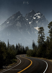Goliath Rising (viece.remmington) Tags: ifttt 500px mountains travel road peaceful landscapes smoky driving tetons grandtetonnationalpark grandtetons sroads