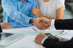 Greeting clients (reputationtempe) Tags: realestate business meeting male businessman broker client agent buying invest deal shaking hands handshake financial greeting closeup agreement purchase focus consult salesman advisor manager customer zzzaclaaaieefdedfpdidgdcdb