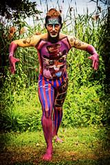 Mr. Kryolan (Alex M. Wolf) Tags: bodypainting body painting paint bodyart wbf wbf2016 alexmwolf canon eos5dmkiii prtschach poertschach carinthia colors color art kryolan