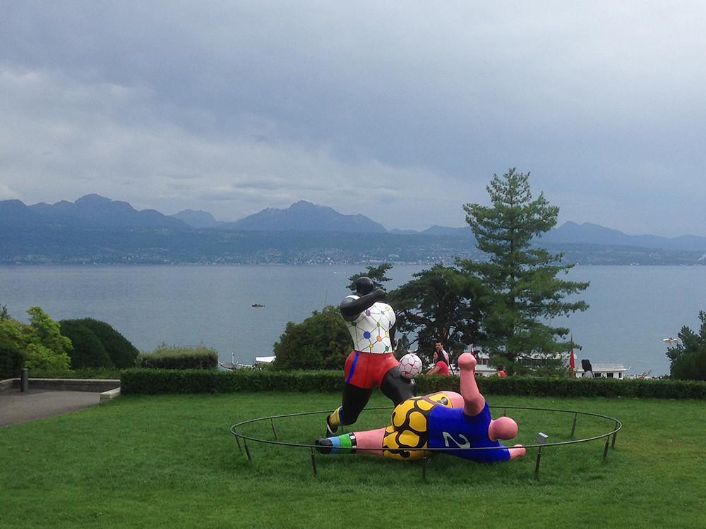 Museu Olímpico em Lausanne 11