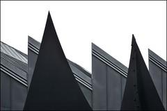 Calder meets Hollein (herman van hulzen) Tags: hermanvanhulzen germany deutschland duitsland mnchengladbach museum abteiberg architecture architectuur hanshollein sculpture skulptuur alexandercalder explore