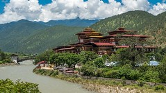5 Reasons You Must Visit Bhutan: The Last Shangri-La0 (mohanrajdurairaj) Tags: punakha bhutan bt editorial tourism buildingexterior lookingatview cloudscape tibetanculture arranging buddhism religion spirituality ancient old famousplace architecture traveldestinations tibet asia himalayas mountain hill landscape river monastery templebuilding castle fort builtstructure dzong