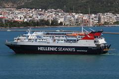 VOLOS, GREECE. (Andrew Mansfield - Sheffield UK) Tags: ship boat ferry volos greece hellenicseaways