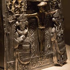 Christian Scotland IV (Lawrence OP) Tags: scotland guthrie bellshrine bishops crucifixion jesuschrist cross museumofscotland silver gilt