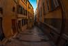 "Wandering Old Town Nice (lncgriffin) Tags: nice nizza france républiquefrançaise europe europa oldtown vieilleville rueduchateau fisheye travel nikon d610 nikkor ""16mmf28dfisheye"""