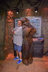 """Scott and Chewbacca • <a style=""""font-size:0.8em;"""" href=""""http://www.flickr.com/photos/28558260@N04/29123369672/"""" target=""""_blank"""">View on Flickr</a>"""